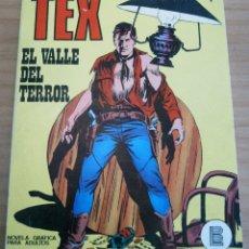 Cómics: TEX - NÚMERO 1: EL VALLE DEL TERROR - AÑO 1971. Lote 178007563