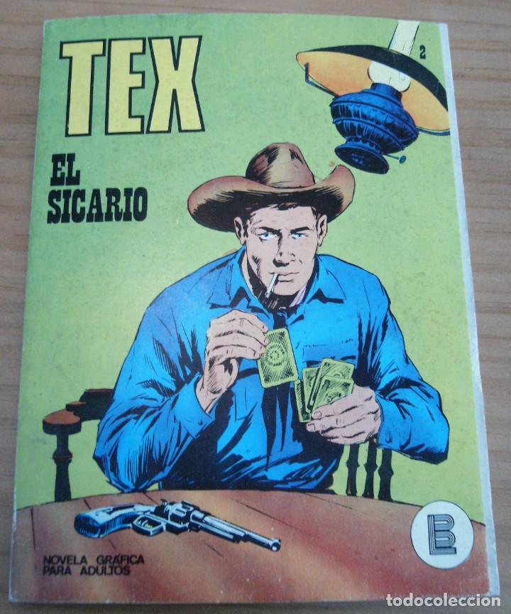TEX - NÚMERO 2: EL SICARIO - AÑO 1971 - BUEN ESTADO (Tebeos y Comics - Buru-Lan - Tex)