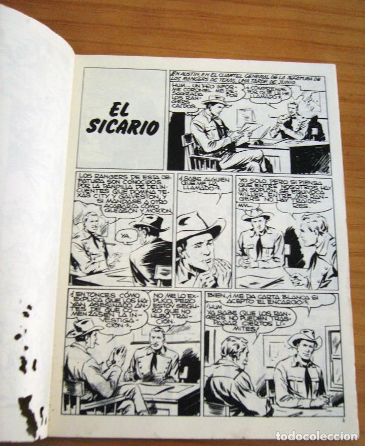 Cómics: TEX - NÚMERO 2: EL SICARIO - AÑO 1971 - BUEN ESTADO - Foto 2 - 178011502
