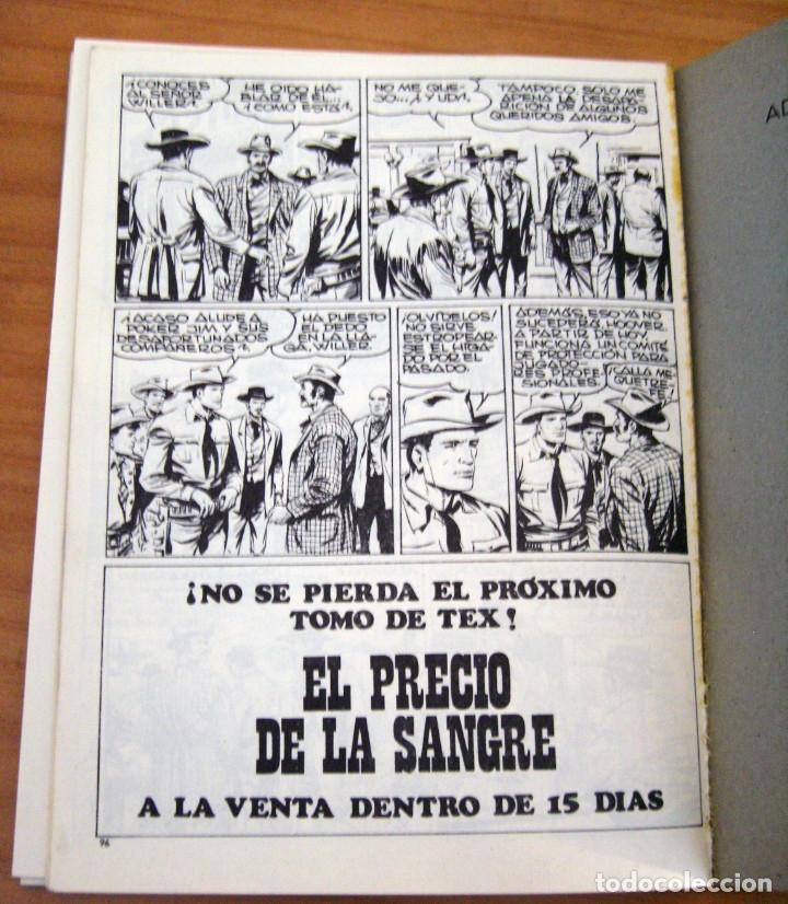 Cómics: TEX - NÚMERO 2: EL SICARIO - AÑO 1971 - BUEN ESTADO - Foto 8 - 178011502