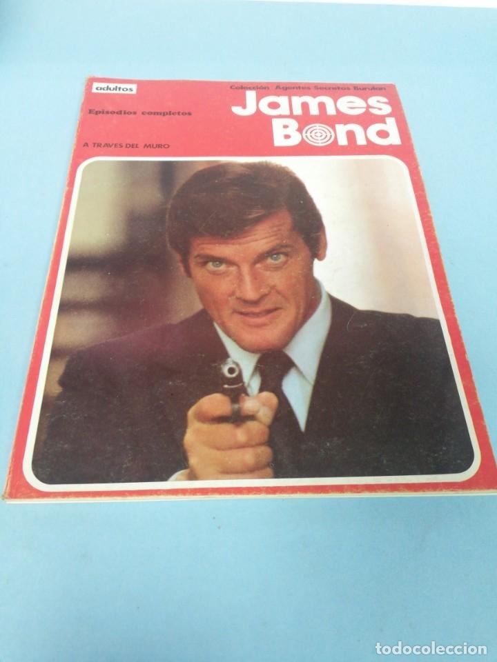 JAMES BOND. A TRAVÉS DEL MURO. (Tebeos y Comics - Buru-Lan - James Bond)
