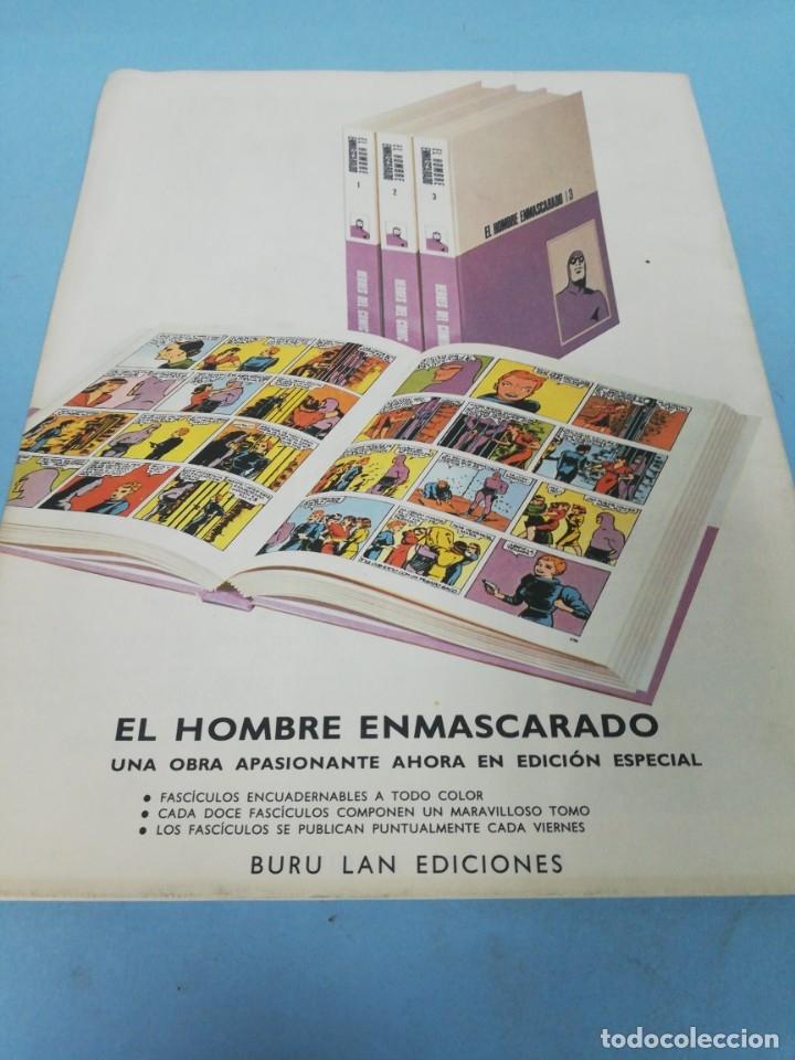 Cómics: Héroes del cómic. El hombre enmascarado número 27. 1971. - Foto 2 - 178086902