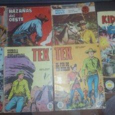 Cómics: COMICS DEL OESTE, HAZAÑAS DEL OESTE,SIOUX,TEX,KID TEJANO. Lote 178176861