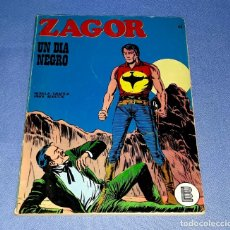 Comics : ZAGOR Nº 43 UN DIA NEGRO EN MUY BUEN ESTADO BURULAN ORIGINAL AÑO 1972 VER FOTOS Y DESCRIPCIO. Lote 178258656