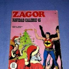 Comics : ZAGOR Nº 41 NAVIDAD CALIBRE 45 EN MUY BUEN ESTADO BURULAN ORIGINAL AÑO 1972 VER FOTOS Y DESCRIPCIO. Lote 178258812