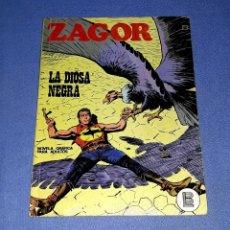 Comics : ZAGOR Nº 40 LA DIOSA NEGRA EN MUY BUEN ESTADO BURULAN ORIGINAL AÑO 1972 VER FOTOS Y DESCRIPCIO. Lote 178259056