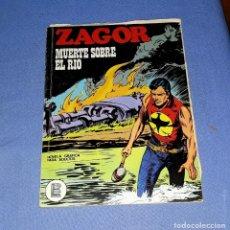 Comics : ZAGOR Nº 39 MUERTE EN EL RIO EN MUY BUEN ESTADO BURULAN ORIGINAL AÑO 1972 VER FOTOS Y DESCRIPCIO. Lote 178259306