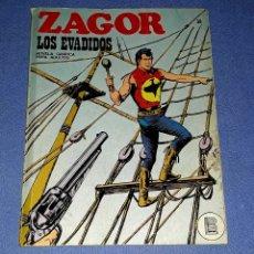 Comics : ZAGOR Nº 38 LOS EVADIDOS EN MUY BUEN ESTADO BURULAN ORIGINAL AÑO 1972 VER FOTOS Y DESCRIPCIO. Lote 178259443