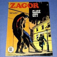 Comics : ZAGOR Nº 37 CLARK CITY EN MUY BUEN ESTADO BURULAN ORIGINAL AÑO 1972 VER FOTOS Y DESCRIPCIO. Lote 178259672