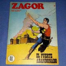 Comics : ZAGOR Nº 33 EL FUERTE ABANDONADO EN MUY BUEN ESTADO BURULAN ORIGINAL AÑO 1972 VER FOTOS Y DESCRIPCIO. Lote 178262313