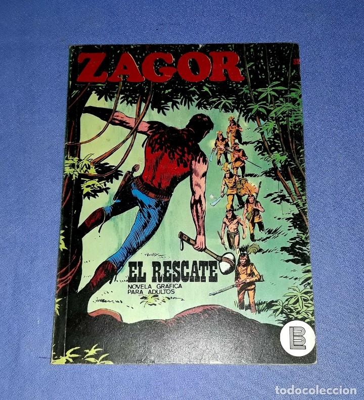 ZAGOR Nº 32 EL RESCATE EN MUY BUEN ESTADO BURULAN ORIGINAL AÑO 1972 VER FOTOS Y DESCRIPCIO (Tebeos y Comics - Buru-Lan - Zagor)
