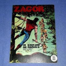 Comics : ZAGOR Nº 32 EL RESCATE EN MUY BUEN ESTADO BURULAN ORIGINAL AÑO 1972 VER FOTOS Y DESCRIPCIO. Lote 178262413