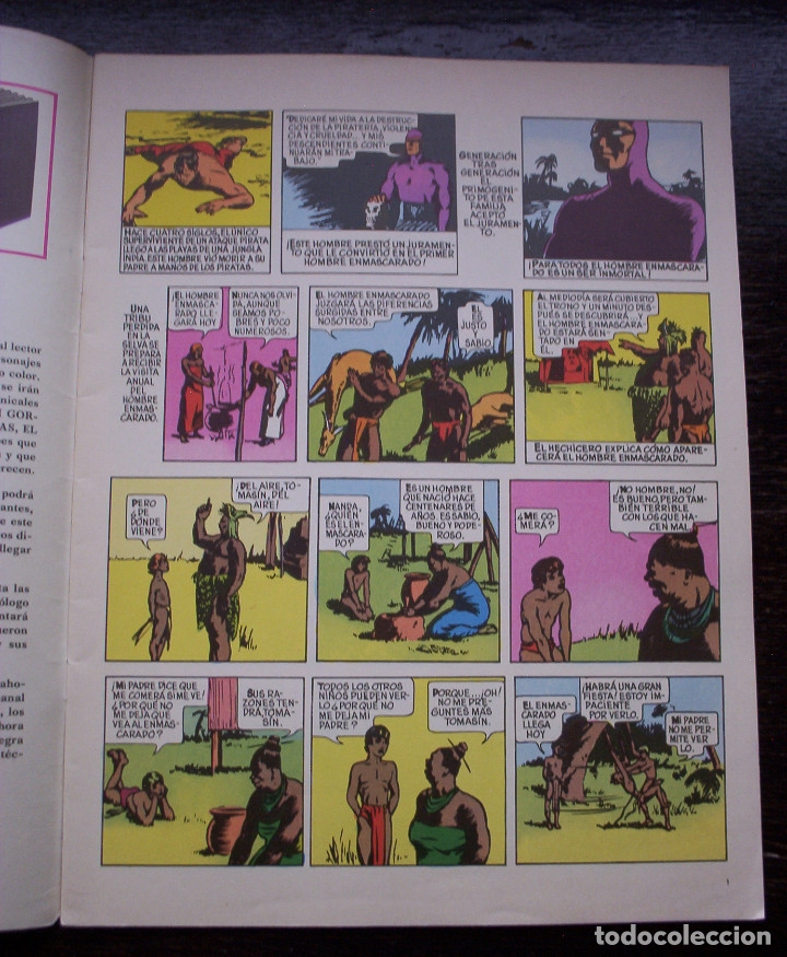 Cómics: EL HOMBRE ENMASCARADO - FASCÍCULO 1: EL HOMBRE ENMASCARADO EN LONDRES - AÑO 1971 - Foto 3 - 178310467