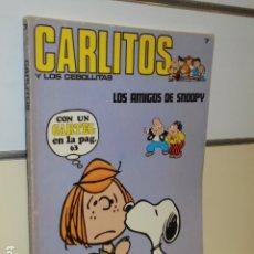 Cómics: CARLITOS Y LOS CEBOLLITAS Nº 7 LOS AMIGOS DE SNOOPY NO LLEVA EL CARTEL DE REGALO - BURU LAN. Lote 178612985