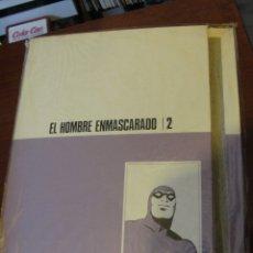 Cómics: TAPAS PARA ENCUADERNAR EL TOMO 2 EL HOMBRE ENMASCARAD - HEROES DEL COMIC BURULAN 1971 - PRECINTADAS. Lote 178617197