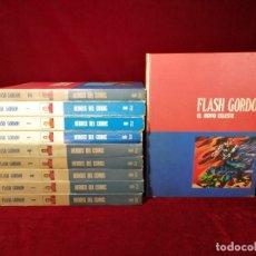 Cómics: COLECCIÓN COMPLETA FLASH GORDON BURU LAN 1975 , 10 DE TOMOS DE 11 FALTA SOLO Nº 9. Lote 178645501