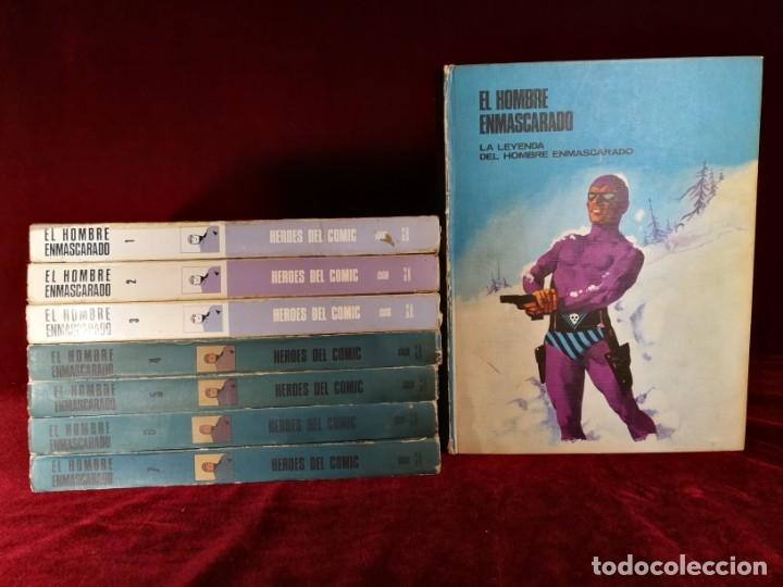 COLECCIÓN COMPLETA EL HOMBRE ENMASCARADO BURU LAN 8 TOMOS 1974 (Tebeos y Comics - Buru-Lan - Hombre Enmascarado)