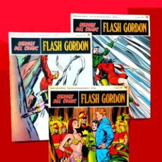 Cómics: FLASH GORDON, Nº 14 - 15 - 16 - 3 FASCICULOS DEL TOMO 2, 1971 - BURU-LAN COMICS,- COMO NUEVOS.. Lote 178887416