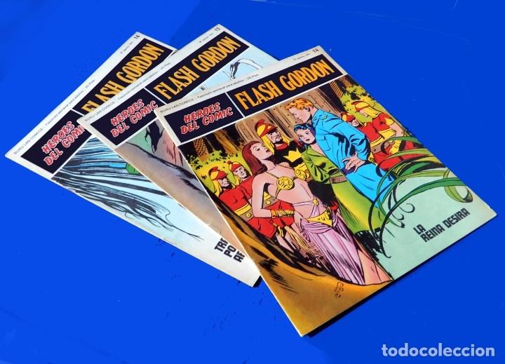 Cómics: FLASH GORDON, Nº 14 - 15 - 16 - 3 FASCICULOS DEL TOMO 2, 1971 - BURU-LAN COMICS,- COMO NUEVOS. - Foto 2 - 178887416