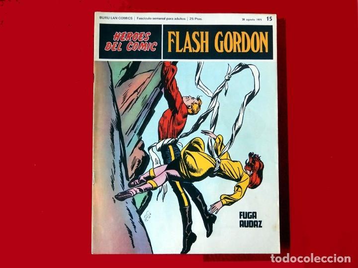 Cómics: FLASH GORDON, Nº 14 - 15 - 16 - 3 FASCICULOS DEL TOMO 2, 1971 - BURU-LAN COMICS,- COMO NUEVOS. - Foto 5 - 178887416