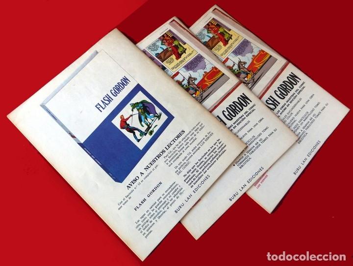 Cómics: FLASH GORDON, Nº 14 - 15 - 16 - 3 FASCICULOS DEL TOMO 2, 1971 - BURU-LAN COMICS,- COMO NUEVOS. - Foto 10 - 178887416