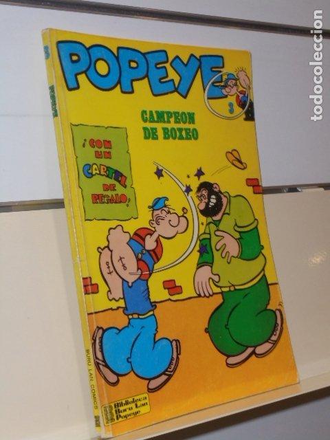 POPEYE Nº 3 CAMPEON DE BOXEO NO LLEVA EL CARTEL DE REGALO - BURU LAN (Tebeos y Comics - Buru-Lan - Popeye)