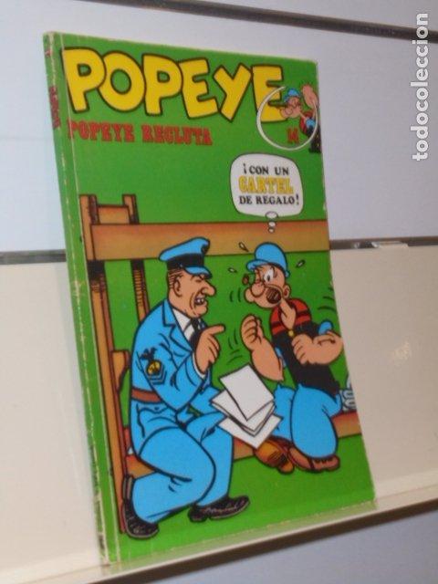 POPEYE Nº 14 POPEYE RECLUTA NO LLEVA EL CARTEL DE REGALO - BURU LAN (Tebeos y Comics - Buru-Lan - Popeye)