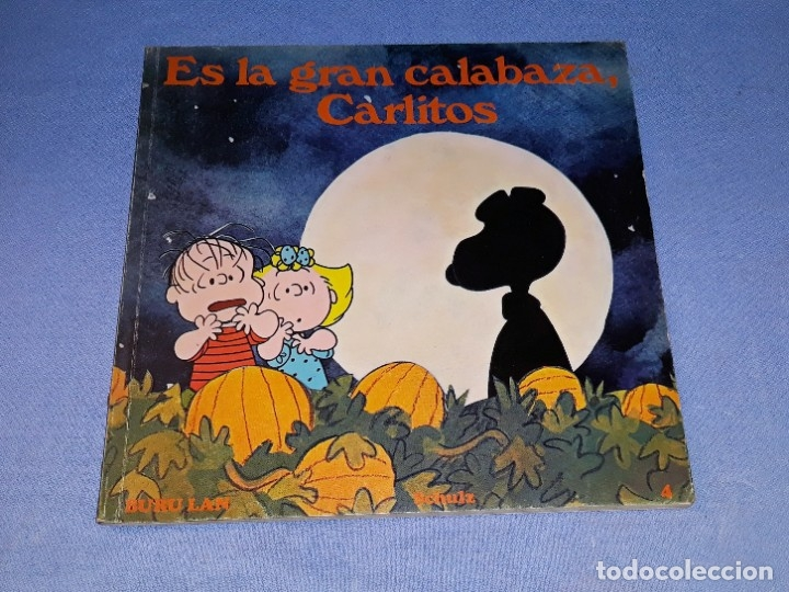 ES LA GRAN CALABAZA CARLITOS EDICIONES BURULAN PRIMERA EDICION AÑO 1972 ORIGINAL (Tebeos y Comics - Buru-Lan - Otros)