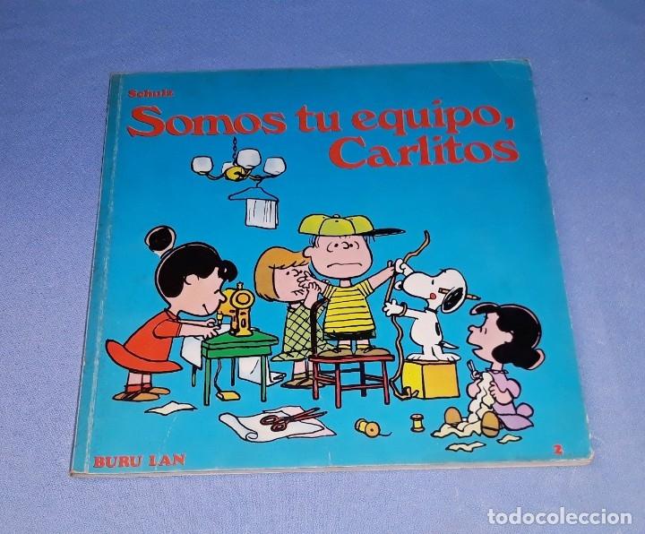 SOMOS TU EQUIPO CARLITOS EDICIONES BURULAN PRIMERA EDICION AÑO 1972 ORIGINAL (Tebeos y Comics - Buru-Lan - Otros)