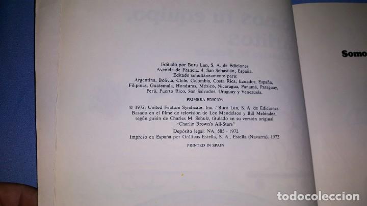 Cómics: SOMOS TU EQUIPO CARLITOS EDICIONES BURULAN PRIMERA EDICION AÑO 1972 ORIGINAL - Foto 2 - 178970281