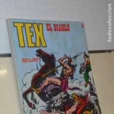 Cómics: TEX Nº 67 EL DIABLO - BURU LAN. Lote 179027647
