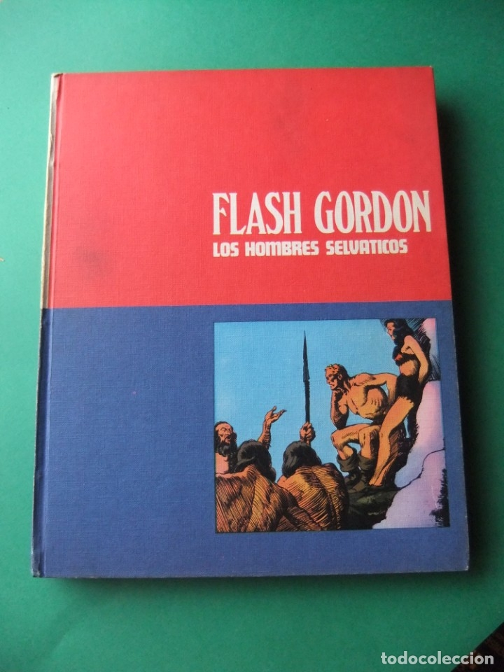 FLASH GORDON TOMO 02 BURULAN 1972 (Tebeos y Comics - Buru-Lan - Flash Gordon)