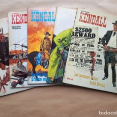 Cómics: SHERIFF KENDALL 1 A 5 COMPLETA - BURU LAN - BUEN ESTADO - JMV. Lote 180463203