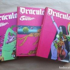Cómics: DRÁCULA - TOMOS 1 A 3 - WOLFF - 5 POR INFINITO - BURU LAN - BUEN ESTADO - JMV. Lote 180463627