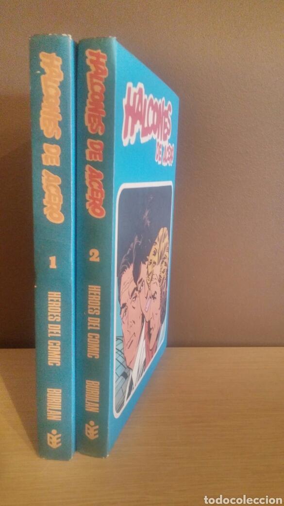 Cómics: HALCONES DE ACERO COMPLETA 2 TOMOS BURU LAN 1974 - Foto 2 - 180860985