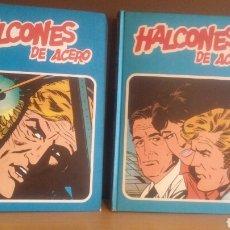 Cómics: HALCONES DE ACERO COMPLETA 2 TOMOS BURU LAN 1974. Lote 180860985