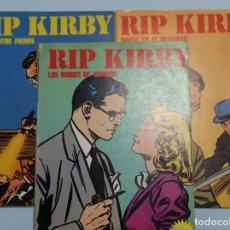 Cómics: LOTE RIP KIRBY 6, 10 Y 11. BURULAN. Lote 180863200