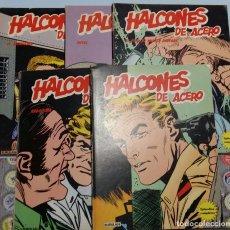 Cómics: LOTE HALCONES DE ACERO 1, 2, 3, 4 Y 6. BURULAN. Lote 180863685