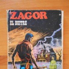Comics : ZAGOR Nº 30 - EL BUITRE - BURU LAN - LEER DESCRIPCION (W). Lote 180936585
