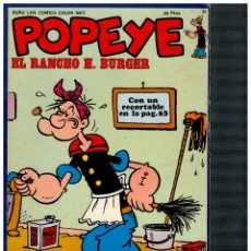 Cómics: POPEYE 36. CON RECORTABLE. . Lote 180965771