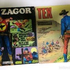 Cómics: COMIC TEX Y ZAGOR BURU LAN. Lote 180990813