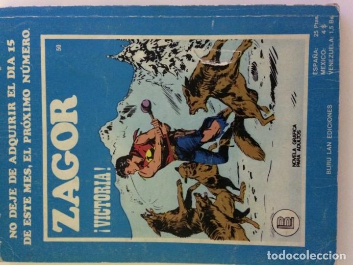 Cómics: COMIC TEX Y ZAGOR BURU LAN - Foto 3 - 180990813