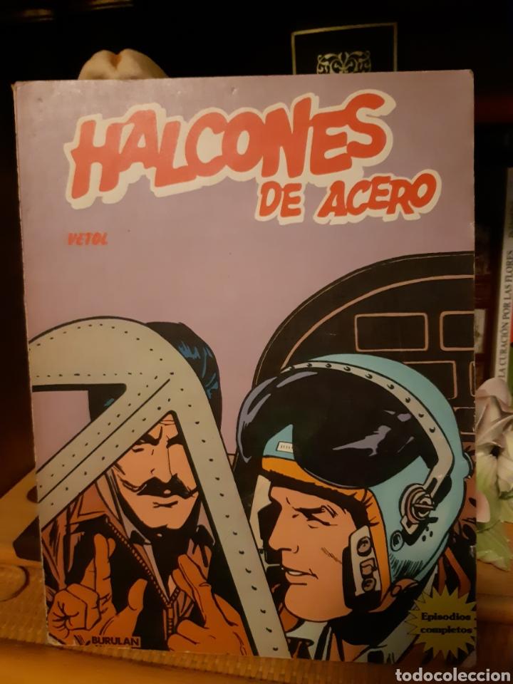 TEBEOS-CÓMICS CANDY - HALCONES DE ACERO ALBUM 2 - BURULAN - AA99 (Tebeos y Comics - Buru-Lan - Halcones de Acero)