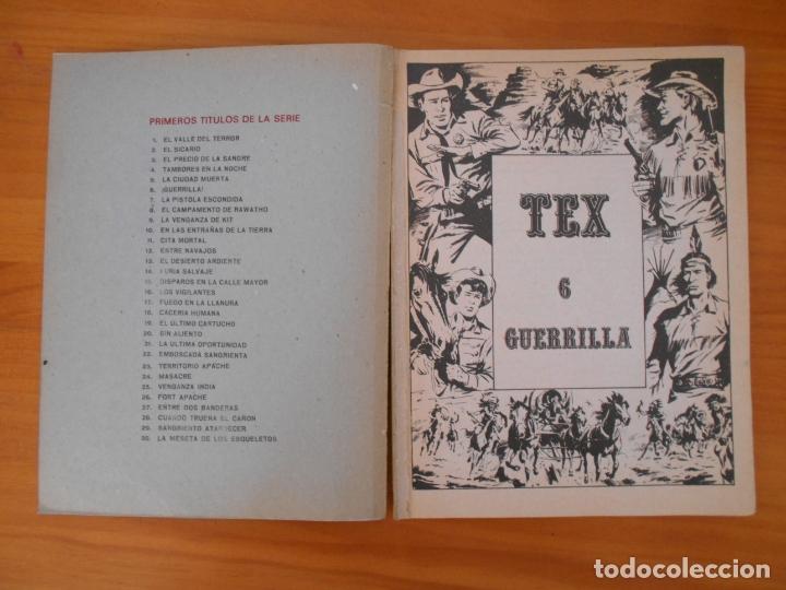 Cómics: TEX Nº 6 - GUERRILLA - BURU LAN - LEER DESCRIPCION (7F) - Foto 3 - 181476466