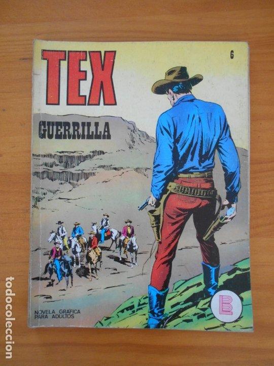 TEX Nº 6 - GUERRILLA - BURU LAN - LEER DESCRIPCION (7F) (Tebeos y Comics - Buru-Lan - Tex)