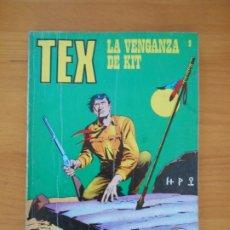 Cómics: TEX Nº 9 - LA VENGANZA DE KIT - BURU LAN (7J). Lote 181476837