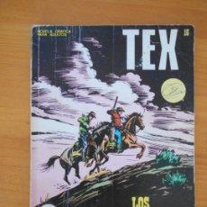 Cómics: TEX Nº 16 - LOS VIGILANTES - BURU LAN (7J). Lote 181477020