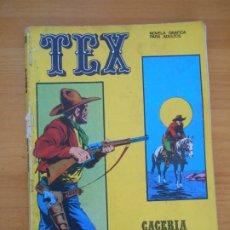 Cómics: TEX Nº 18 - CACERIA HUMANA - BURU LAN - LEER DESCRIPCION (7Ñ). Lote 181477575
