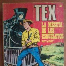Cómics: TEX Nº 30 : LA MESETA DE LOS ESQUELETOS. Lote 181529491