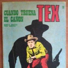 Cómics: TEX Nº 28 CUANDO TRUENA EL CAÑÓN. Lote 181530143